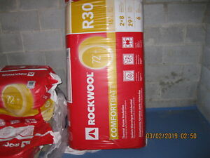 Rockwool R 30 Batt Insulation With Sound Barrier