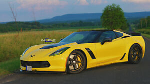 19 20 Chevy Corvette C7r Stingray Incurve Forged Wheels Made In The Usa Z06