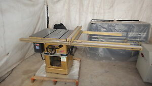 Powermatic 66 10 Table Saw 5 Hp 220 Volts 3 Ph Cabinet Saw Excellent Shape
