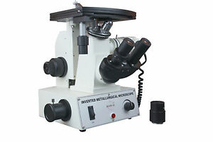 High Power Metallurgy Metallograph Inspection Microscope With Camera Port