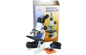 Wholesale Lot Of 25 Pcs Student Science School Cordless Led Microscope W Slides