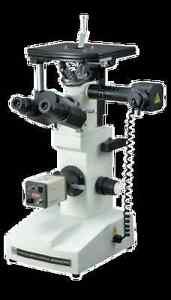 Research Inverted Metallurgical Metallograph Microscope W 3mp Pc Camera