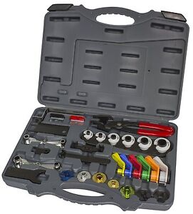 Quick Disconnect Kit Fuel Line Ac Transmission Clutch Oil Cooler Fitting Release