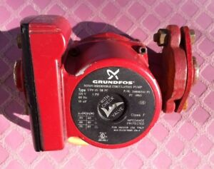 Used Grundfos 3 Speed Cast Iron Circulator Pump And Flanges