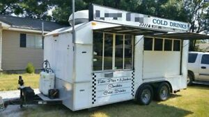 Food Shaved Ice Concession Trailer For Sale In Oklahoma