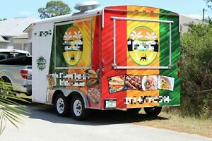12 5 X 8 4 Food Concession Trailer For Sale In Florida