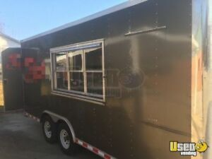 2016 8 5 X 18 Food Concession Trailer For Sale In North Carolina
