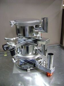 2469 Stainless Steel Pressure filter Double Chamber System
