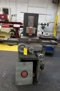 Reid Surface Grinder 6x18 Magnet Chuck With Grinding Wheels