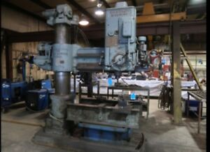 Cincinnati Bickford Super Service Radial Arm Drill S n 3e 987 4 X 12