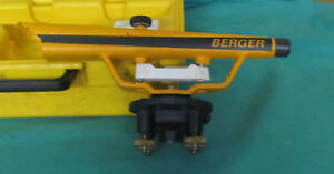 Berger Instruments Transit And Level Model 135 With Case