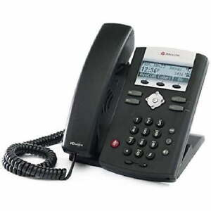Polycom Soundpoint Ip335 335 Poe Phone 2200 12375 025 W Power Nib
