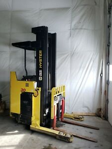 Hyster Electric Fork Lift N30xmdr2 3 000 Lb Capacity