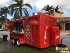 7 x 14 2017 Forv Food Concession Trailer For Sale In Florida