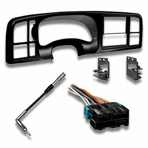Ai Double Din Car Stereo Radio Install Package For Select 99 02 Trucks