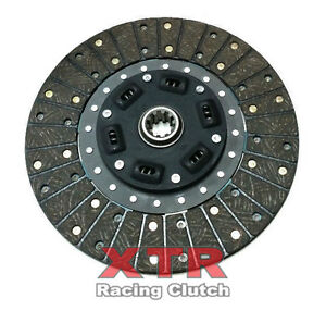 Xtr Stage 2 Carbon Kavlar Clutch Disc Plate For Ford Mustang 10 5 10 Spline