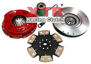 Xtr Stage 4 Clutch Kit slave hd Flywheel For 2005 2010 Ford Mustang 4 0l V6
