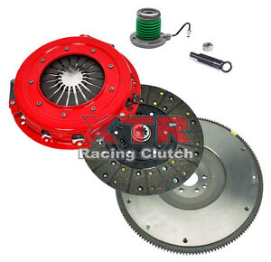 Xtr Stage 1 Clutch Kit Hd Flywheel 2005 2010 Ford Mustang Gt Shelby Gt 4 6l V8