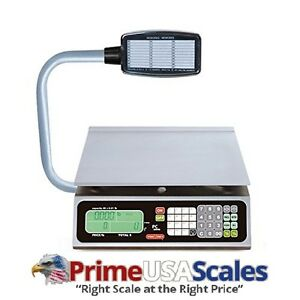 Torrey Pc40lt Electronic Price Computing Scale 40 Lb 8 Direct Access Keys