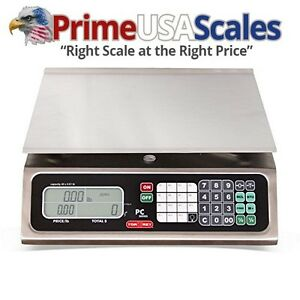 Torrey Pc40l Electronic Price Computing Scale Rechargeable Battery Stainless