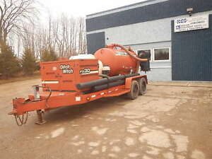 2005 Ditch Witch Fx30 800 Gallon Vacuum Trailer W Hydro Excavating Pothole