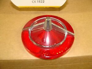 1963 Corvair Tail Light Lens Delco Guide 1007