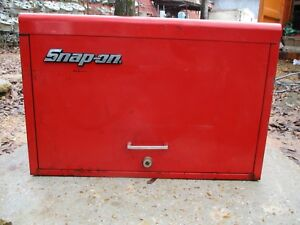 Snap on 9 Drawer Tool Box Top Chest Red Toolbox Kra59k