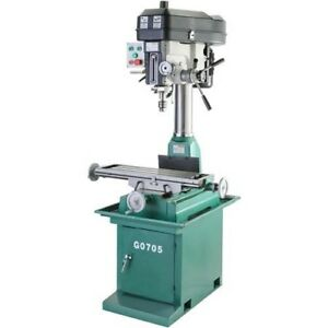 Grizzly Mill drill Press W stand