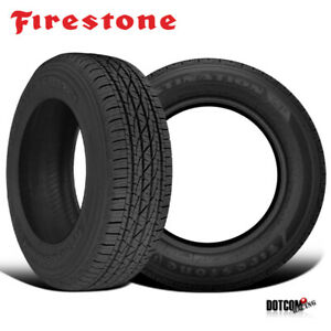 2 X New Firestone Destination Le 2 P265 70r16 111t Highway All season Tire