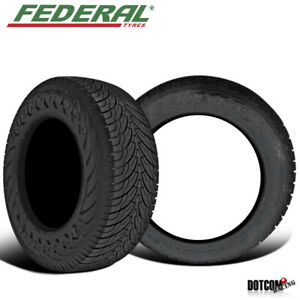2 X New Federal Couragia S u 305 45r22 118v All season Highway Tire