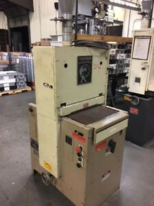 Timesaver 18 Belt Sander ts 1 Only Dust Collector Listed Separately