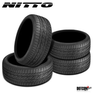 4 X New Nitto Motivo 255 35r20 97w Ultra High Performance Tire
