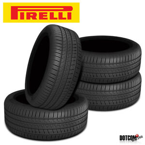 4 X New Pirelli Pzero As Plus 215 45 17 91w Ultra High Performance Tire