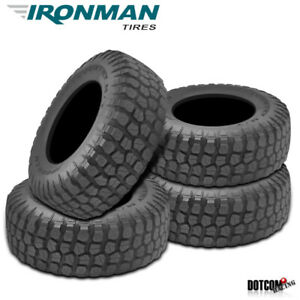 4 X New Ironman All Country M t 35 12 5 17 121q Mud Terrain Tire