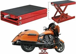 Extreme Max Wide Motorcycle Scissor Jack 1100 Lb Harley Davidson Free Shipping