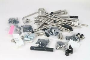 As Is Newport Thorlabs Optical Table Accessories 130 Piece Lot