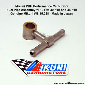 Mikuni 40phh 44phh Carb Fuel Pipe Assembly T N115 028 240z 280z 2000 510 Solex