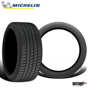2 X New Michelin Pilot Sport A S 3 255 40 18 95y Ultra High Performance Tire