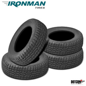 4 X New Ironman All Country A T 245 70r16 111t All Terrain Truck Suv Tire