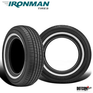 2 X New Ironman Rb 12 Nws 215 70r15 98s All Season Touring Tire
