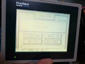 Pro face Graphic Panel Gp370 lg41 Tested Working Free Shipping