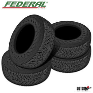4 X New Federal Couragia Xuv P255 65r16 109h All season Traction Tire
