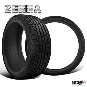 2 X New Zenna Argus Uhp 255 30 22 95w All Season Traction Tire