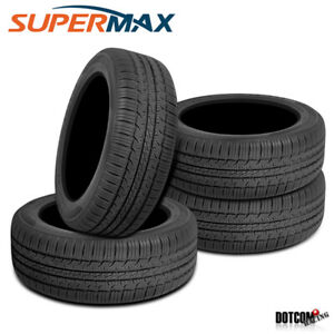 4 X New Supermax Tm 1 225 65 16 100t All Season Touring Tire