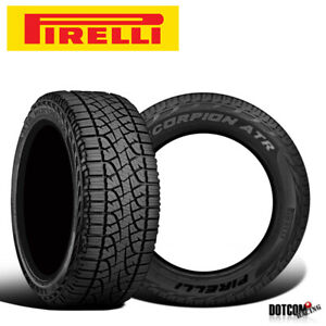 2 X New Pirelli Scorpion Atr 275 55r20 111s All season All terrain Tires