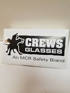 Crews Clear Lens Safety Glasses Lot Of 14