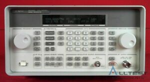 Hp Agilent 8648d 1ea 3847a00946 Synthesized Signal Generator 9khz To 4200mhz