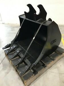 New 30 Heavy Duty Excavator Bucket For Kubota Kx161 with Coupler