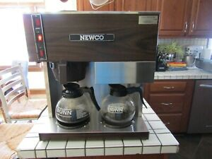 Newco Rd3 Coffee Brewer Stainless Steel Pour Over