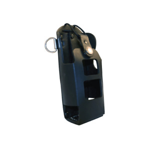 Boston Leather Radio Holder With D Rings for The Motorola 750 Ht 750
